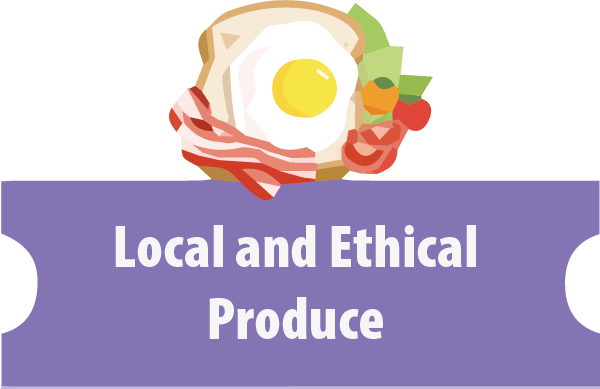 local and ethical produce